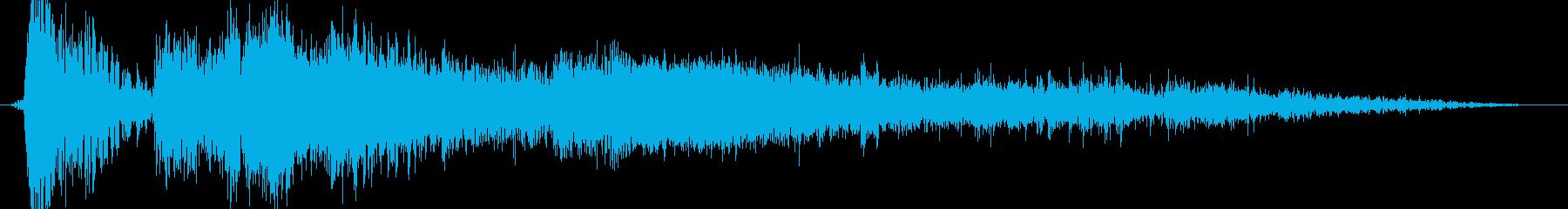 重いマルチ爆発の再生済みの波形