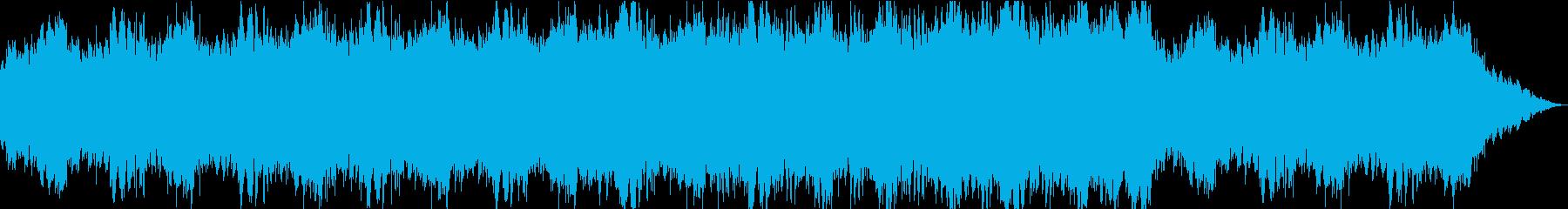 ピアノのアルペジオにドラマを感じるBGMの再生済みの波形