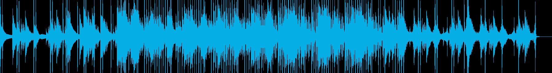 ノスタルジックなヒップホップの再生済みの波形