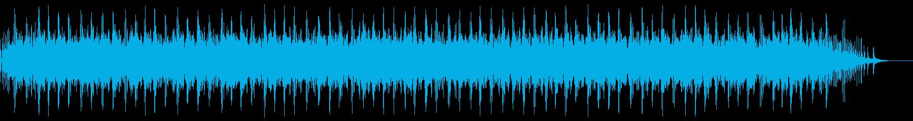 [生録音]魚釣り、リールを巻く10の再生済みの波形