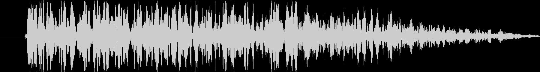 ヘビーローインパクトアンドウーッシ...の未再生の波形