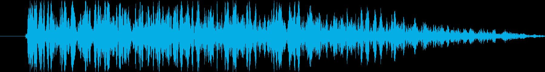 ヘビーローインパクトアンドウーッシ...の再生済みの波形