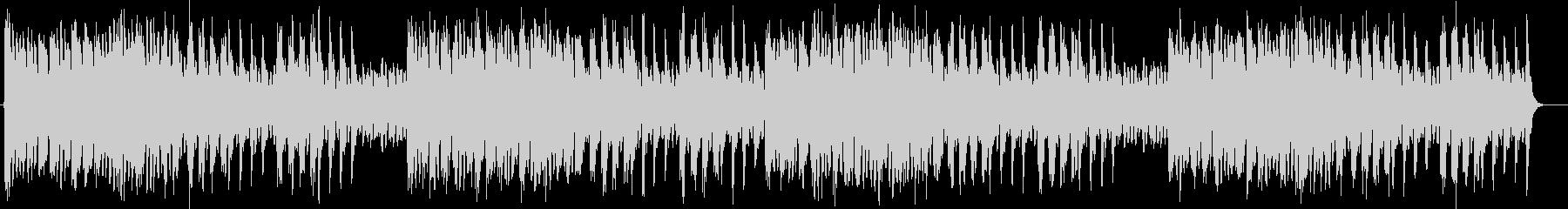 キラキラ感のあるシンセサイザーサウンドの未再生の波形