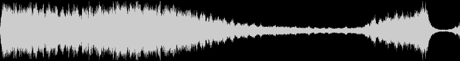 D/つらい儚い弦楽のBGM 映像制作向けの未再生の波形