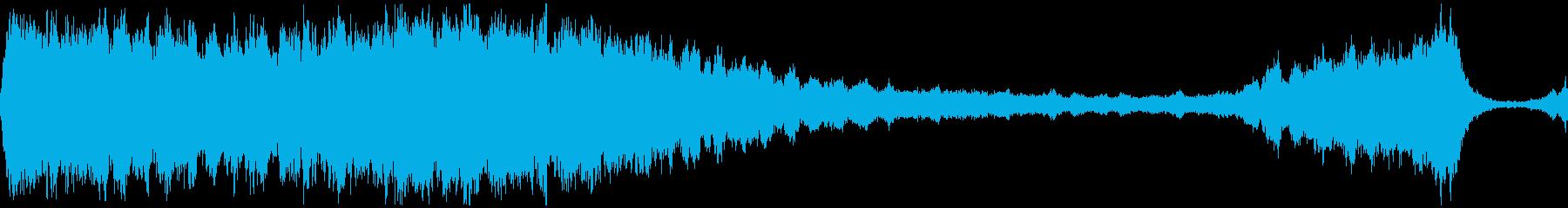 D/つらい儚い弦楽のBGM 映像制作向けの再生済みの波形
