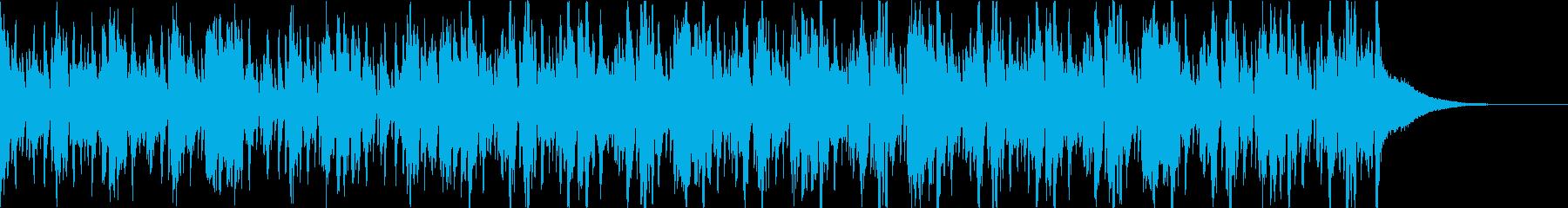 Pf「山車」和風現代ジャズの再生済みの波形