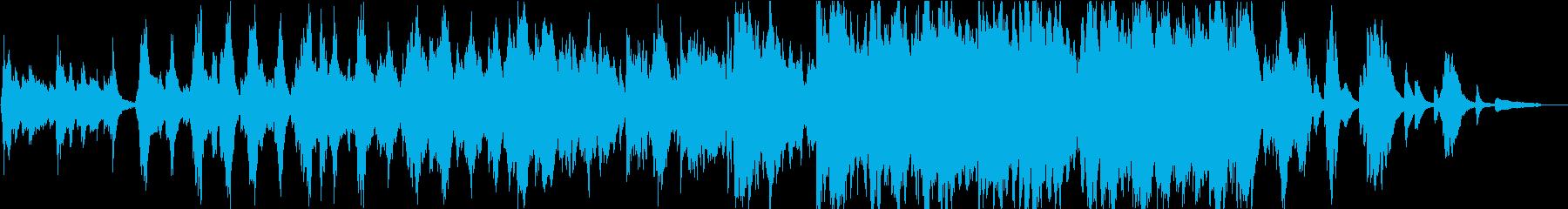 【生演奏】優しく壮大なバイオリン曲の再生済みの波形