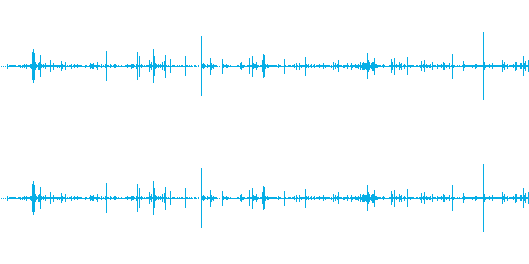 ネバネバしたものがうごめく音3の再生済みの波形