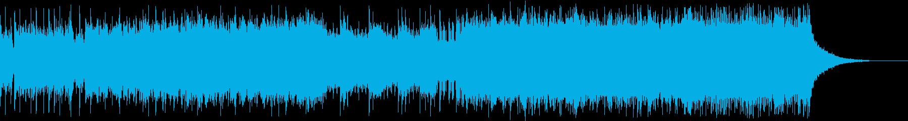 ハードロック+バイオリンのバトル曲の再生済みの波形