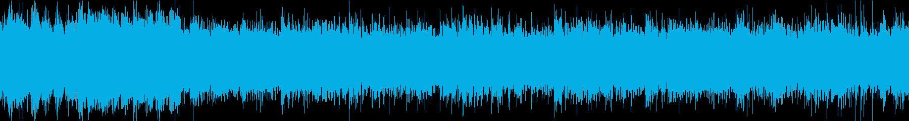 おだやかキラキラ/ループ/イントロ17秒の再生済みの波形