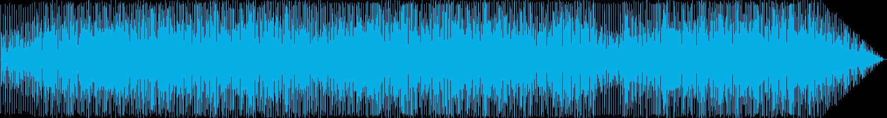 のんびりしたフュージョンの再生済みの波形