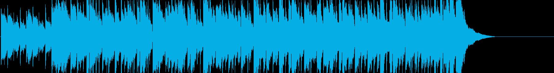 回想 思い出 ゆったり ティータイムの再生済みの波形
