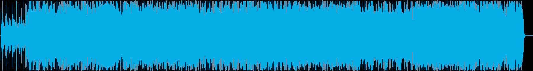 疾走感のある青春シューゲーザーポップの再生済みの波形