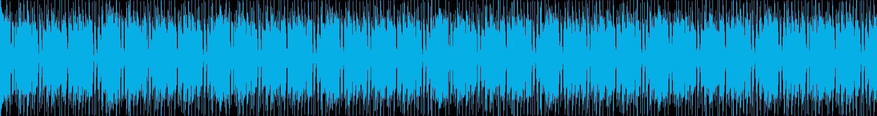 ループ、ウッドベース、明るく軽快、2の再生済みの波形