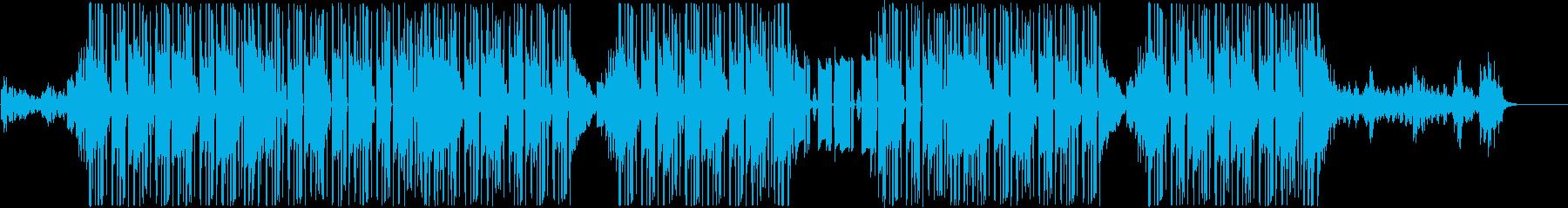 R&B、チルアウト、90sビート♪の再生済みの波形
