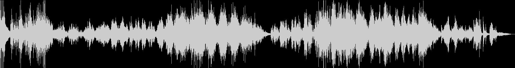 ラフマニノフの有名なメロディのメドレーの未再生の波形