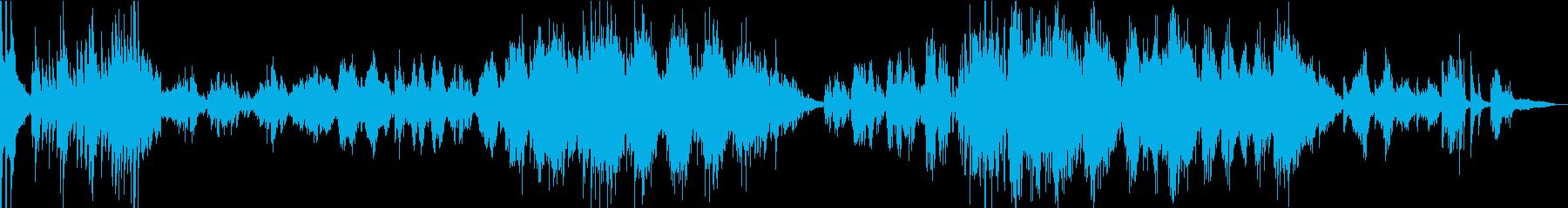 ラフマニノフの有名なメロディのメドレーの再生済みの波形