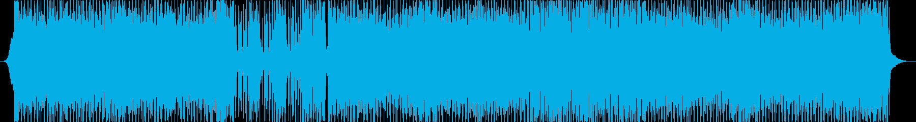 疾走感のあるBGMですの再生済みの波形