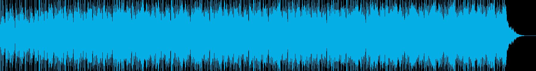 悲愴感の漂う深い悲しみを表現した楽曲の再生済みの波形