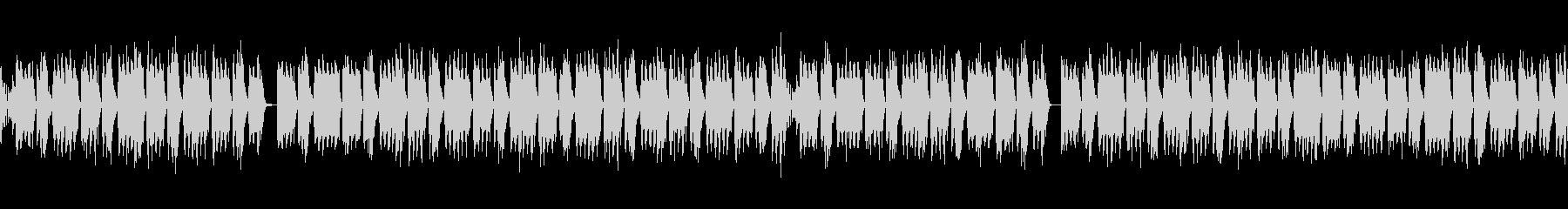 シンプルFutureBass(ループ)の未再生の波形