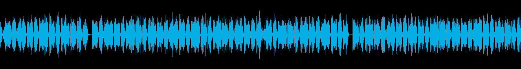 シンプルFutureBass(ループ)の再生済みの波形