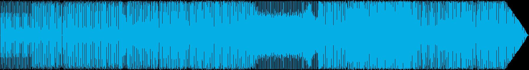 ダンス、最小限。単独の電子打楽器。...の再生済みの波形