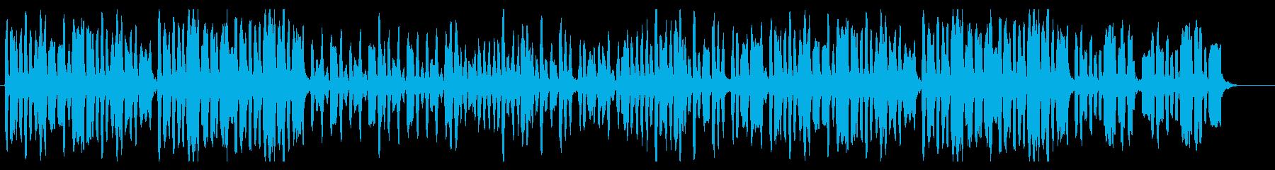 少年達が奏でるほのぼの軽快リコーダー曲の再生済みの波形
