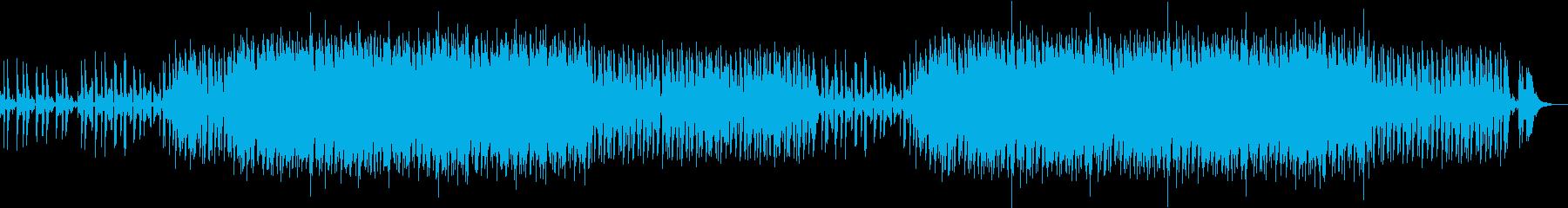 ちょっと懐かしい感じのクラブ系EDMの再生済みの波形