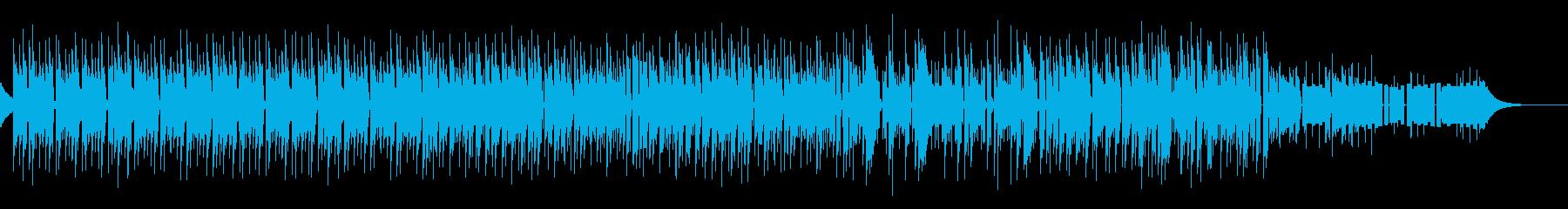 ★80年代レトロシューティングゲーム風の再生済みの波形