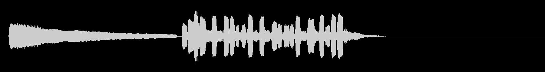 テーマ6B:トランペットの未再生の波形