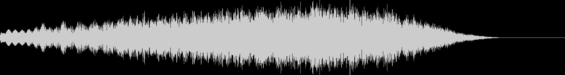 ホラー音05の未再生の波形