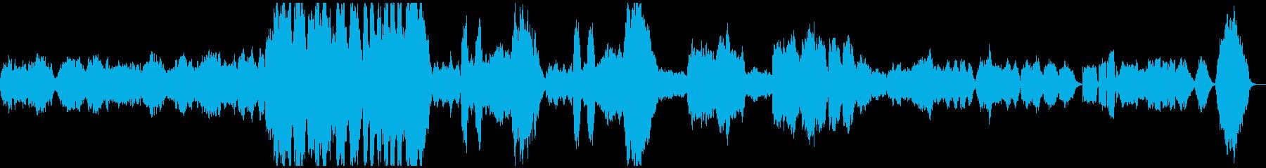 グリーグ/朝の気分01(フルオケ通常版)の再生済みの波形