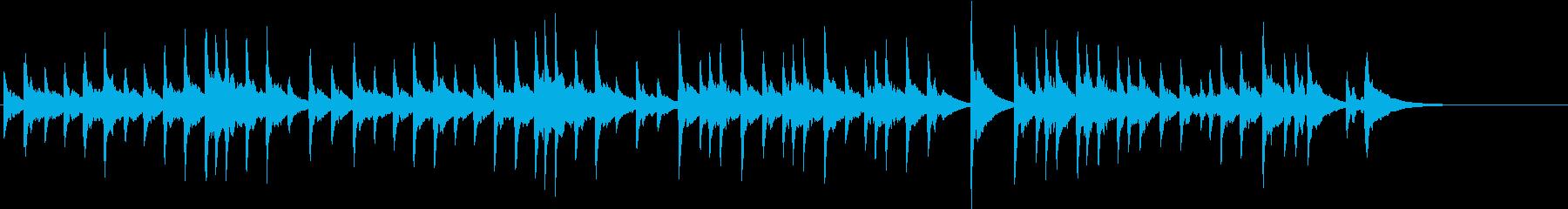 ブラームス交響曲第1番4楽章 オルゴールの再生済みの波形