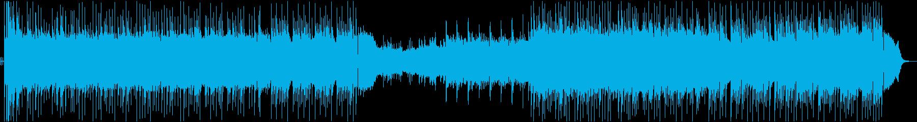 三味線がメロディを奏でる美しい和ロックの再生済みの波形