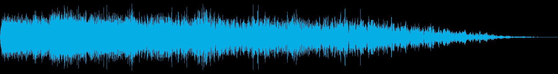 機械ダウン、壊れるA02の再生済みの波形