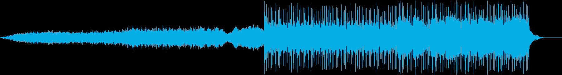 動画 サスペンス 感情的 説明的 ...の再生済みの波形
