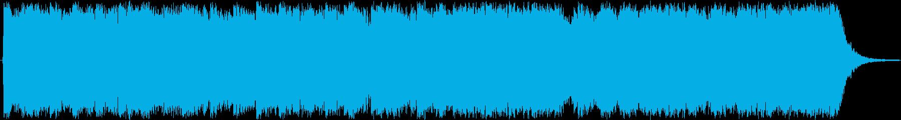 勝利のファンファーレ、ドラマチック...の再生済みの波形