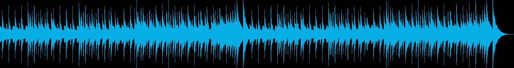 サティ『ジムノペディ』フラジオレットの再生済みの波形