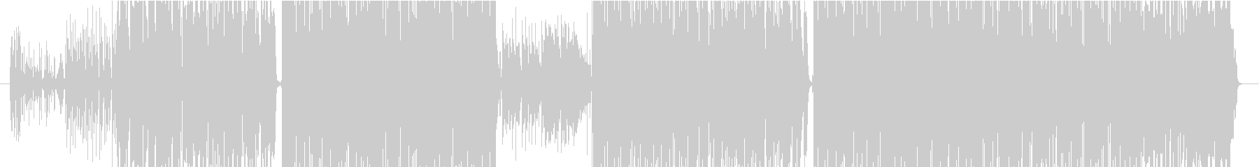 電子機器で暖かい曲の未再生の波形