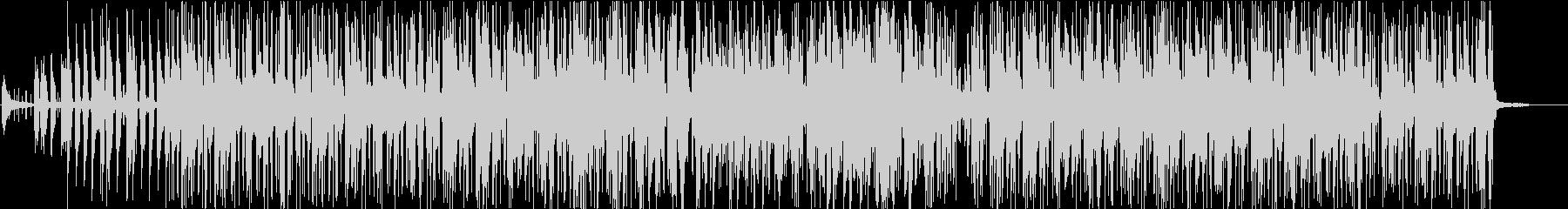 フュージョンでジャズな曲の未再生の波形
