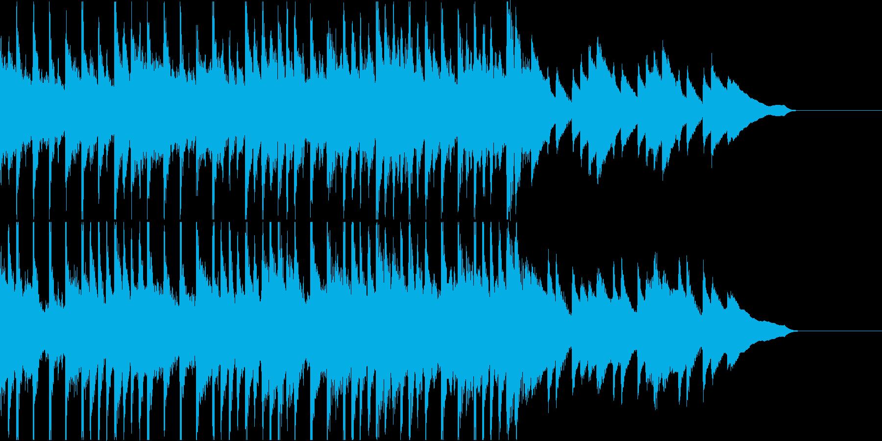 【爽やか】ポジティブで美しい軽快なピアノの再生済みの波形