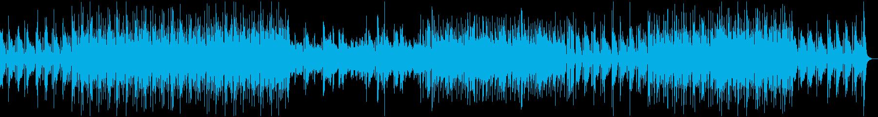 イージーリスニングジャズ。フルート...の再生済みの波形