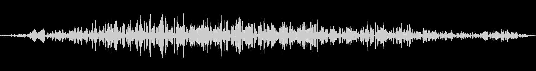 ドローンランブルディープロングwavの未再生の波形