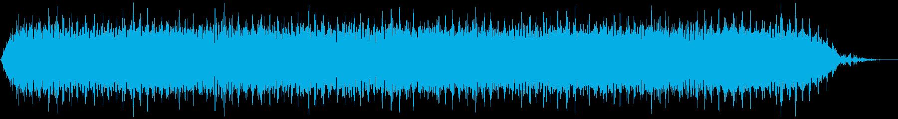 【アンビエント】ドローン_29 実験音の再生済みの波形