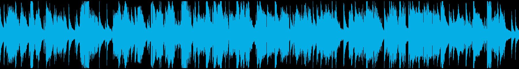 超ゆっくりしっとりジャズ ※ループ仕様版の再生済みの波形