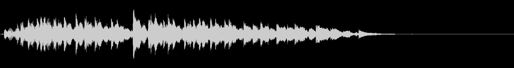 複数のオルゴールによるぐちゃぐちゃ音の未再生の波形