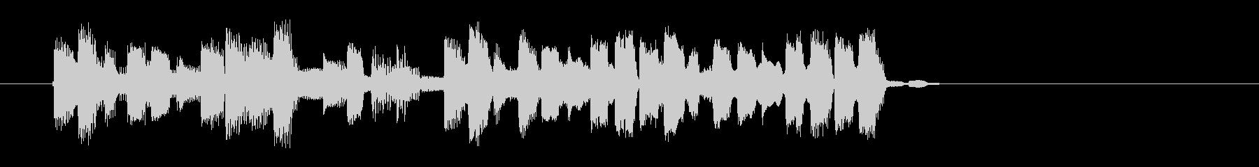 宇宙感のあるシンセギターサウンド(短め)の未再生の波形