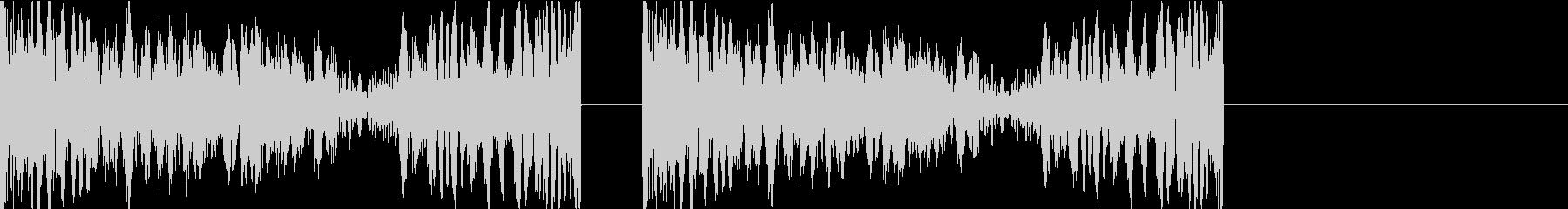 DJプレイ スクラッチ・ノイズ 266の未再生の波形