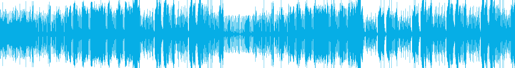 怪しくてコミカル キャラテーマ ループの再生済みの波形