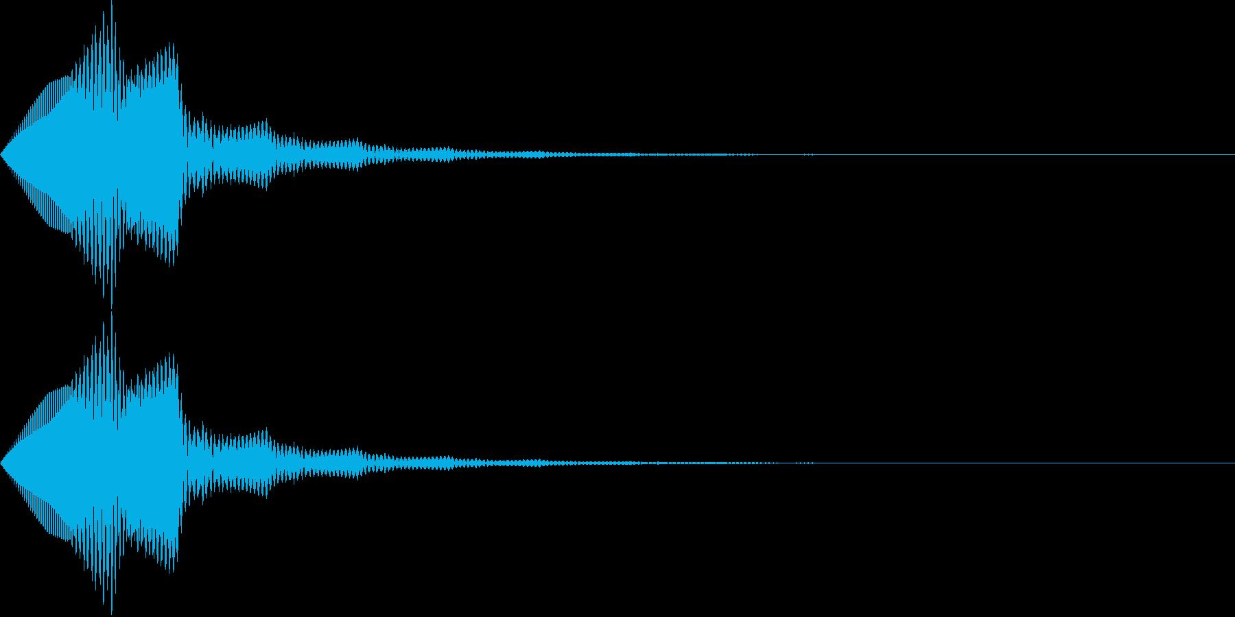 汎用ボタン8 ページ送り・セット等の再生済みの波形